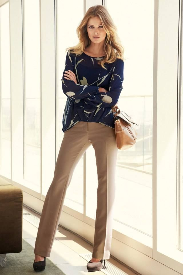 wearable work outfits for fall 2014 | Womens Classic Work Outfits For Fall-Winter 2014-2015 (1)