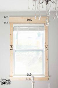 25+ best Craftsman Window Trim ideas on Pinterest | Window ...