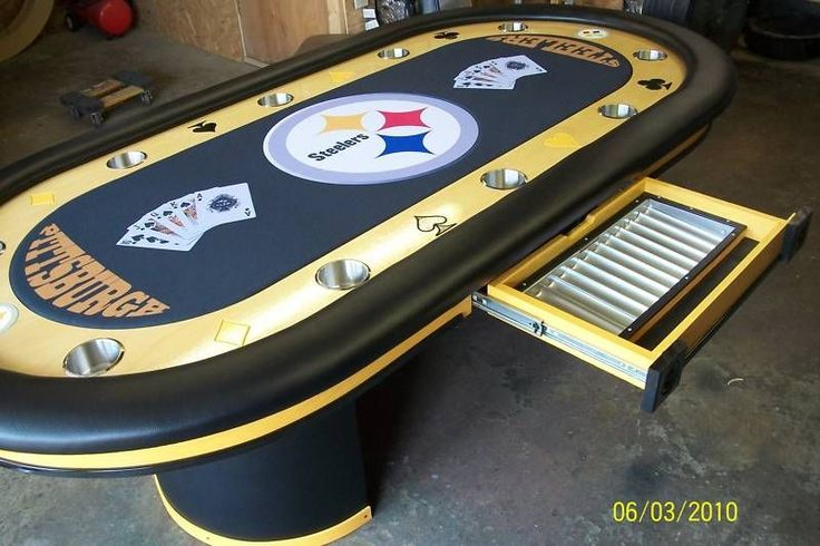 howard chairs for sale little girl table and pittsburgh steelers logo nfl football custom felt team colors poker | sports ...