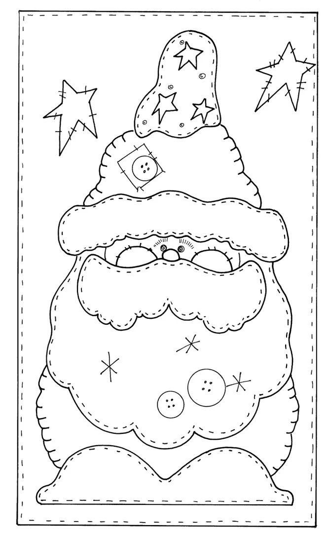 1000+ images about MOLDES- Santa Claus, Papa Noel. San