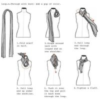 25+ trending Tie A Scarf ideas on Pinterest | Ways to tie ...