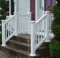 17 Best ideas about Vinyl Railing on Pinterest