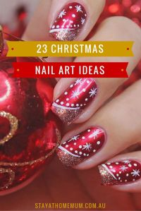 1000+ ideas about Christmas Nail Art on Pinterest ...