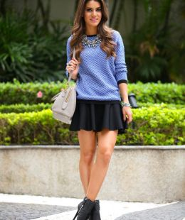 Super Vaidosa » Blog Archive » Look do dia: Suéter Jacquard