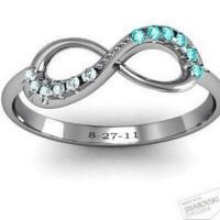 Promise Ring his and her birthstone I'm dying I want I ...