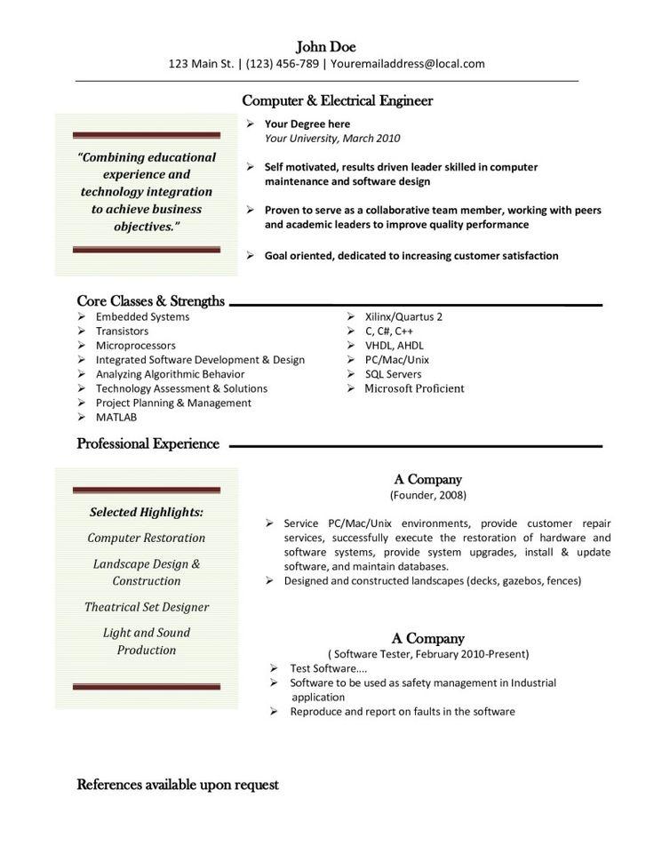 Best 25 Resume builder template ideas on Pinterest