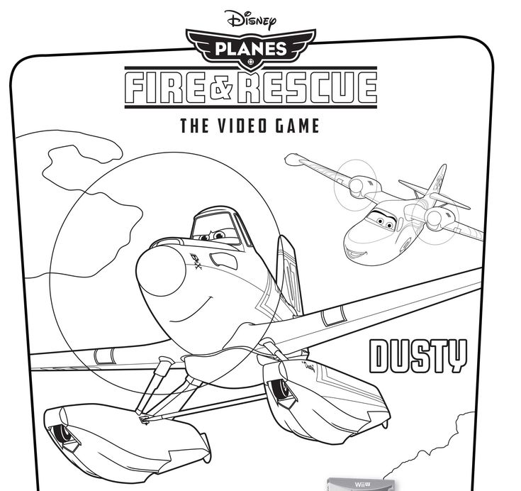 Disney's Planes: Fire & Rescue Video Game Coloring Pages