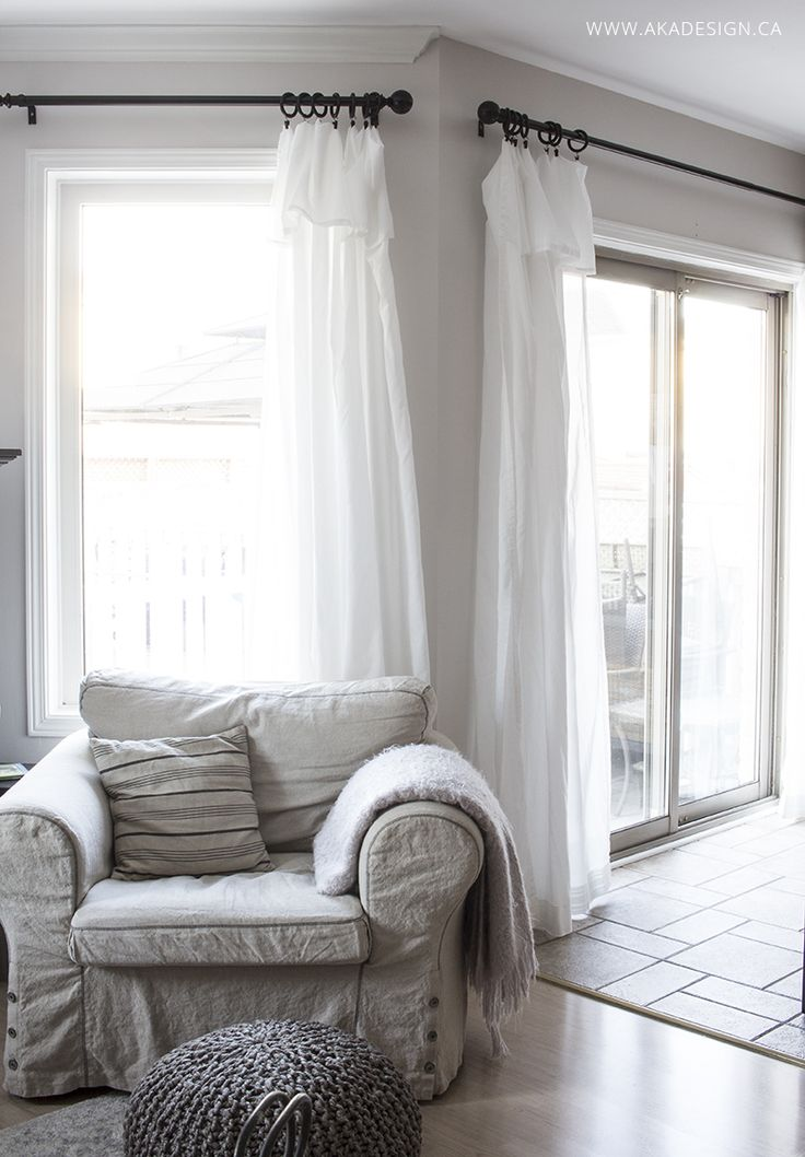 kitchen bay window treatments discount granite countertops 25+ best ideas about ikea curtains on pinterest | office ...