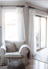 25+ best ideas about Ikea curtains on Pinterest   Office ...
