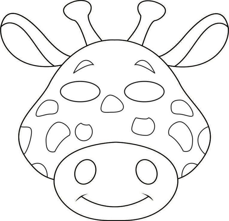 816 best images about Coloring Printable Masks on Pinterest
