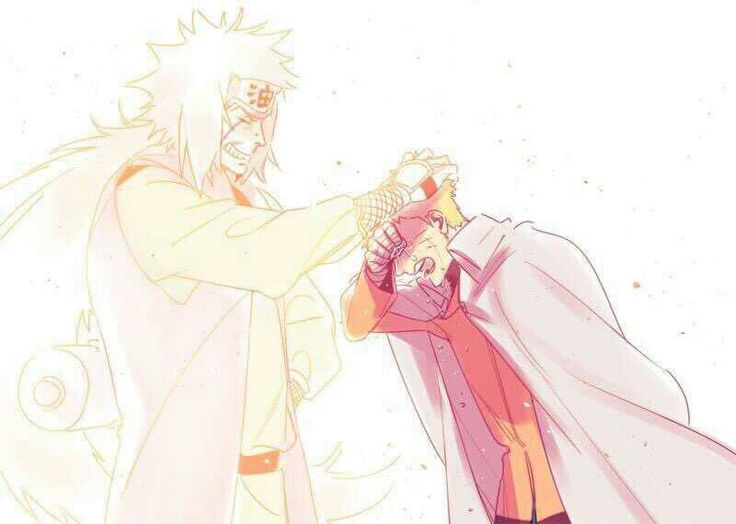 Otaku Quotes Wallpaper Naruto Crying Seventh Hokage Jiraiya Ghost Spirit