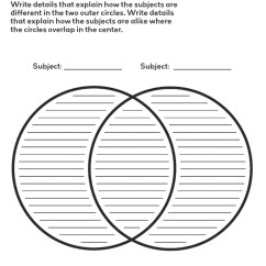 Venn Diagram Template With Lines 9n 12v Wiring Free Printable From Crabtree Publishing | Educational Resources Pinterest ...