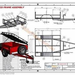 Small Boat Trailer Wiring Diagram Spotlight Ford Ranger Off Road Camper Plans Design 3 Sizes | Ebay Pinterest ...