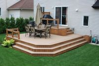 Modern Patio Deck & Hall | LANDSCAPE: Pool {Decks ...