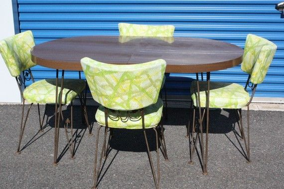 1960s Kitchen Table With 4 Chairs My Dream Kitchen