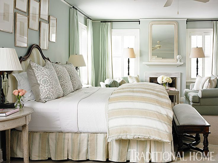 Benjamin Moore Gray Cashmere  Bedroom Paint Colours
