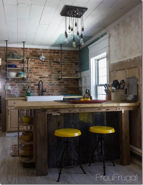 73 best images about URBAN INDUSTRIAL KITCHEN on Pinterest