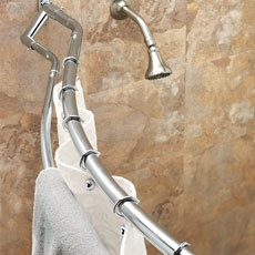 22 Best Images About Double Curved Shower Rods On Pinterest