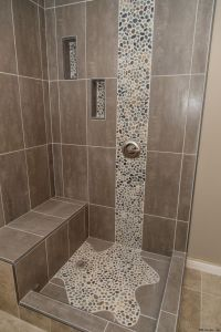25+ best Pebble Tile Shower ideas on Pinterest | River ...