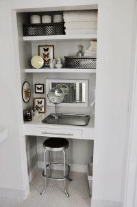 25+ best ideas about Closet Vanity on Pinterest | Makeup ...