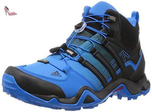 adidas terrex swift r mid gtx chaussures de randonnee homme bleu azul