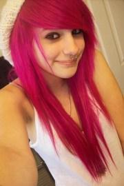 cute scene hair colors