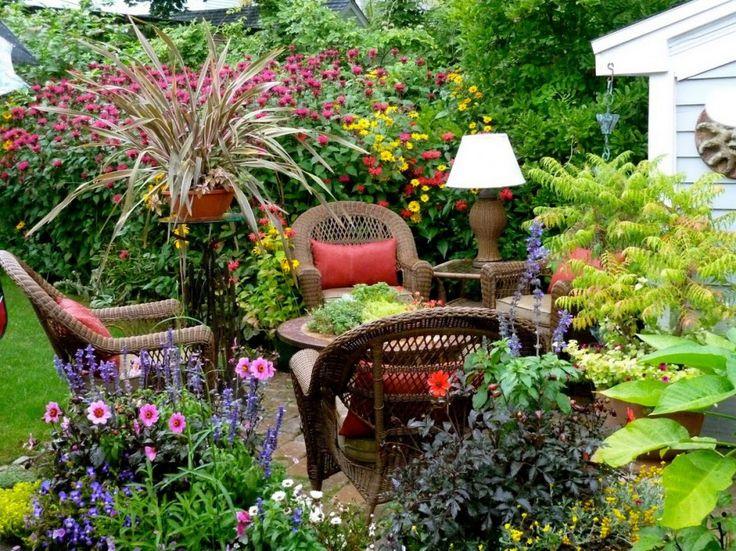 341 Best Images About Small Garden Ideas On Pinterest Gardens