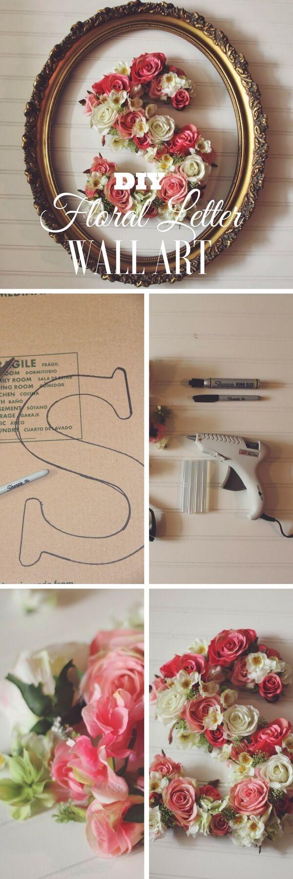 25+ best ideas about Monogram wall art on Pinterest