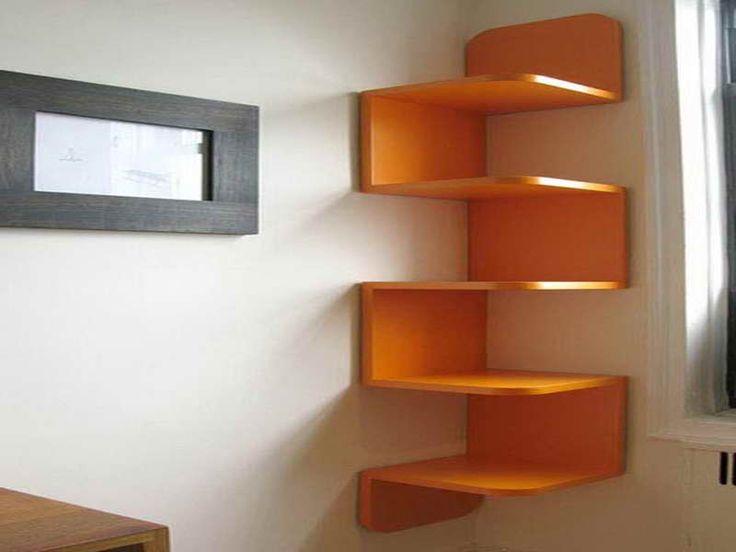 Ikea Modern Floating Corner Shelves Amazing Wall