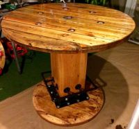 17+ best ideas about Wire Spool Tables on Pinterest