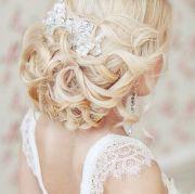 blonde. wedding hair. updo