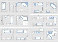 Bathroom Plans With Shower And Bath - Folat