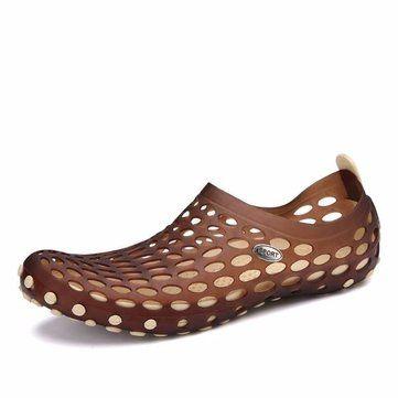 comfortable big size mesh double color slip on flat casual light shoes newchic mobile sandales hommessandales de plagesandales femmeschaussures