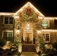 simple christmas light ideas outdoor decor