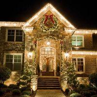 simple christmas light ideas outdoor decor | 18 Photos of ...