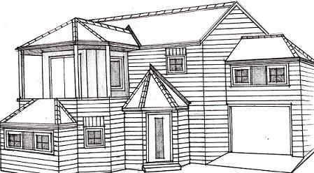 How To Draw A House Art Learn To Draw Pinterest To Draw As