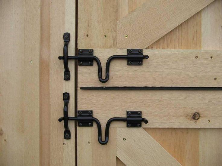 25+ best ideas about Barn door locks on Pinterest