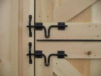 25+ best ideas about Barn door locks on Pinterest