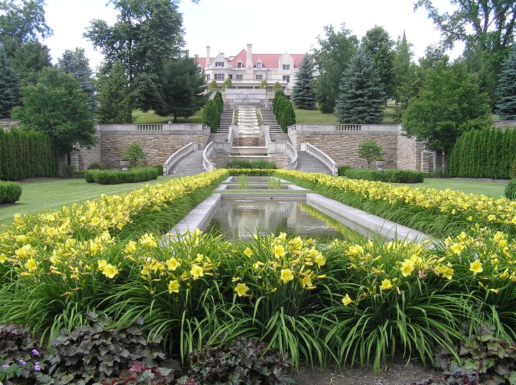 The Schwab Estate And Gardens In Loretto PA Are Across