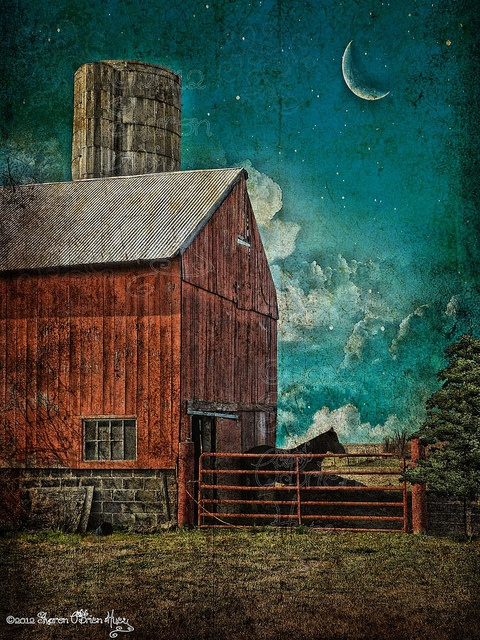 Theres just something about an old red barn that is BIG in my heart  ponies  Pinterest