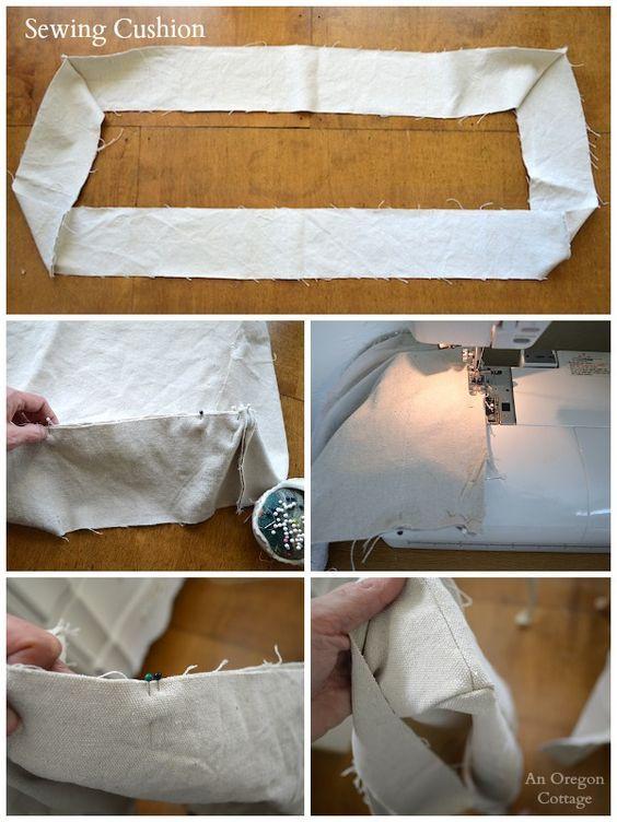 DIY Tufted French Mattress CushionSewing Cushion  An