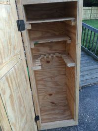 How To Build A Simple Gun Cabinet - WoodWorking Projects ...