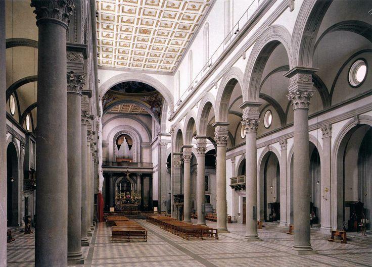 Wnętrze San Lorenzo Wznoszonego Wg Projektu