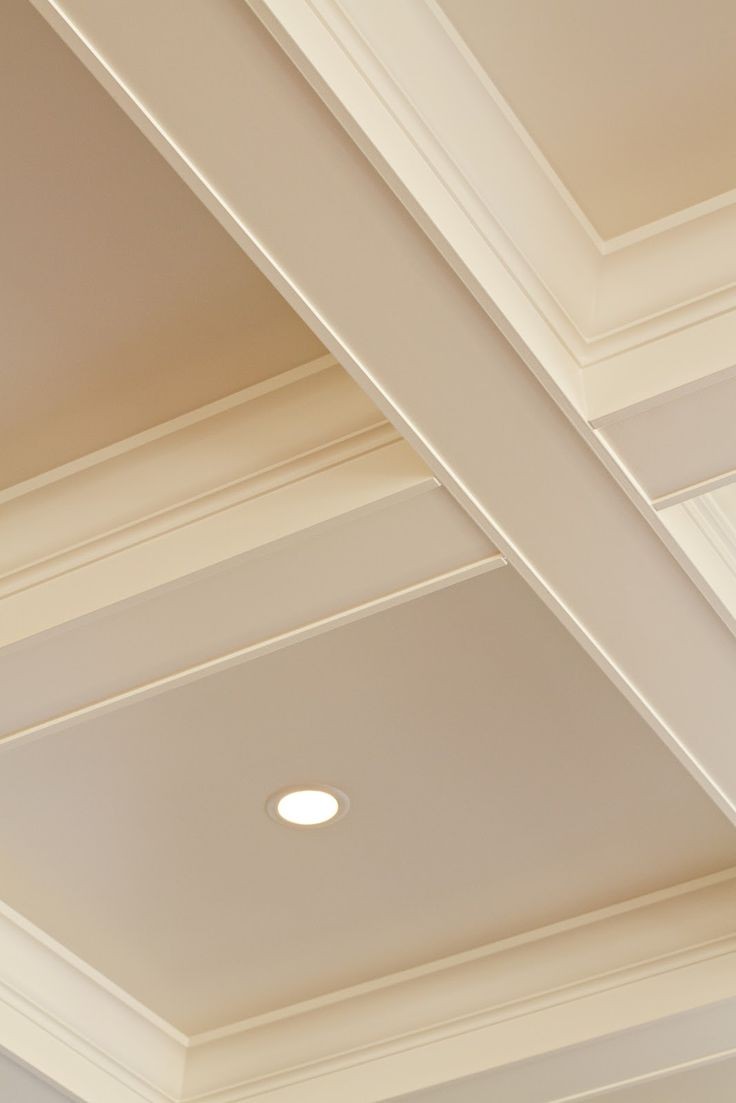 Dream home ceilings  Crown Molding Adds Character to