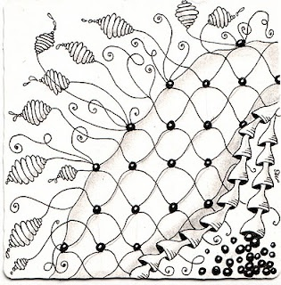 1000+ images about chain zentangle on Pinterest