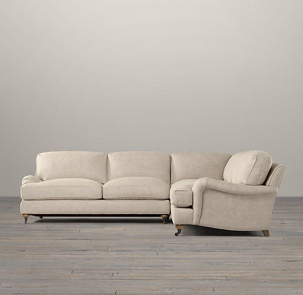 restoration hardware sectional sofa linen sectionnel cuir inclinable the 66 best images about sitting room on pinterest ...