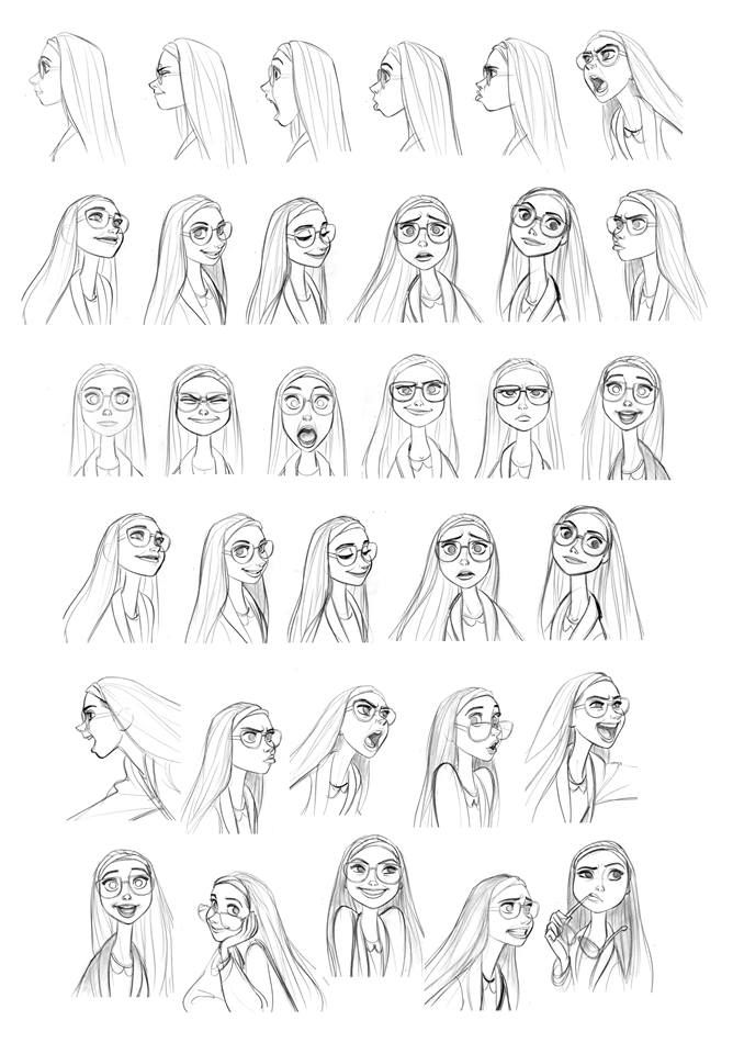 947 best images about Expression Sheets on Pinterest