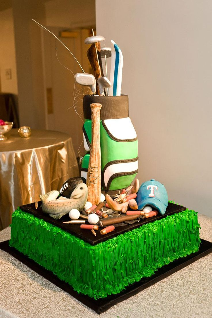1000 images about Golf Wedding Cakes on Pinterest  Golf