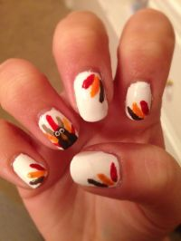 Thanksgiving nails 2013 | Nail Polish!! | Pinterest ...