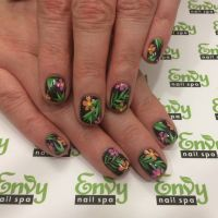 1000+ ideas about Tropical Flower Nails on Pinterest ...